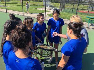 Tennis sectionals vs Morton 2018