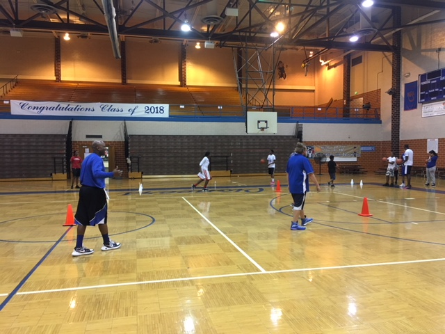 Pioneers Basketball Camp Day 1