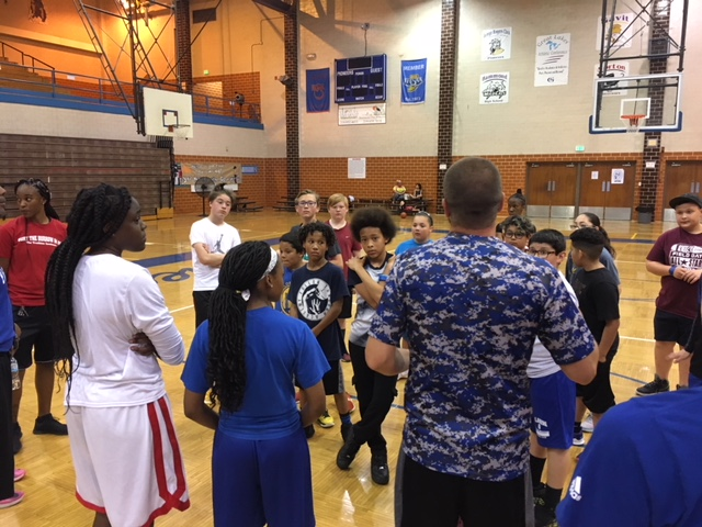 Pioneers Basketball Camp Day 1 MS