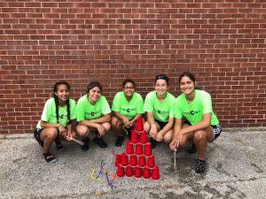 Girls Soccer Beginning of Season Team Building
