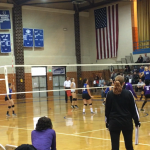 VB update:  Lady Pioneers defeat HHS in 5 to advance to tonights championship match.