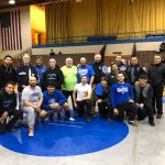 Wrestling Alumni come out to support our Pioneer Wrestling Team