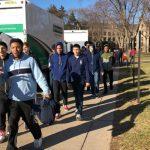 Boys' Basketball Visits Notre Dame