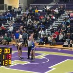 Sr. Daniel Mora-Diaz (138) and Jr. Elijah Walls (120) win opening match at Hobart Regional