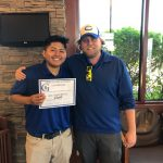 Congrats to Sr. Brandon Aguilar on making All-Conference for Golf!