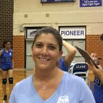 The Lady Pioneers and Head Coach Jen Klapak get first win of the season over Bowman Academy