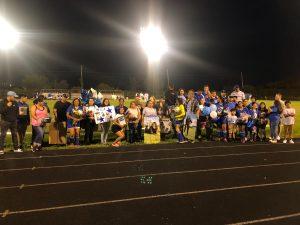 Clark vs Morton Girls Senior Night