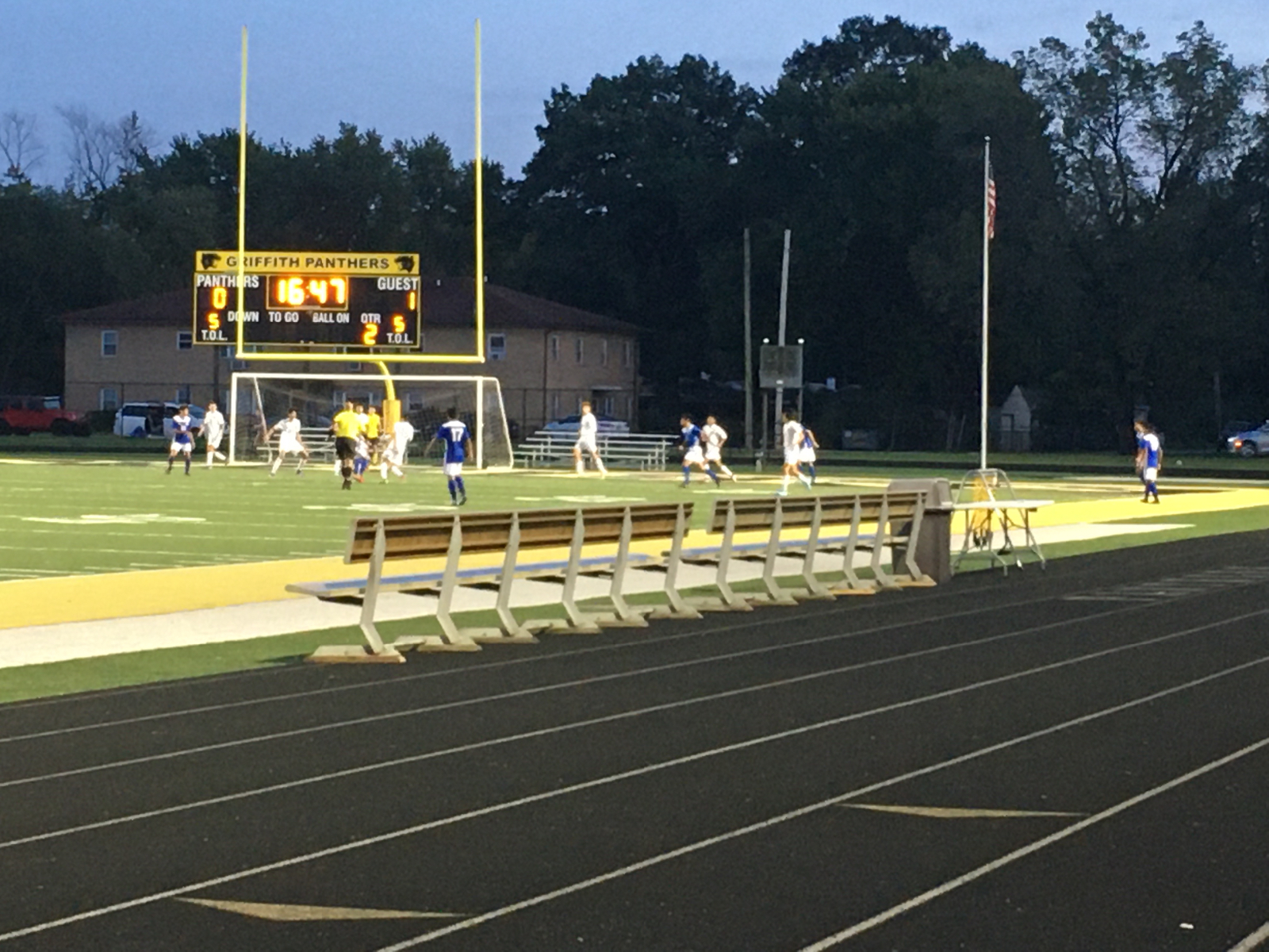 Boys Soccer Sect. Update: Pioneers trail 1-0 with 15 min to play