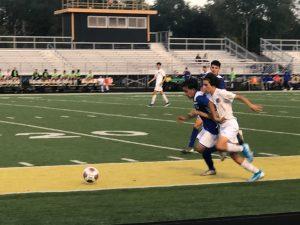 Boys Soccer Sectionals Clark vs Griffith