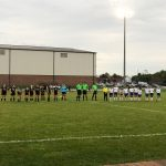 Girls Soccer Sectionals Clark vs Griffith