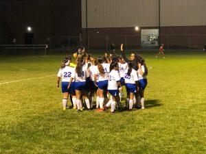 Girls Soccer Sectionals Clark vs Griffith