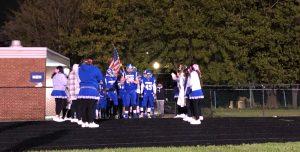 Senior Night Football Clark vs Westside
