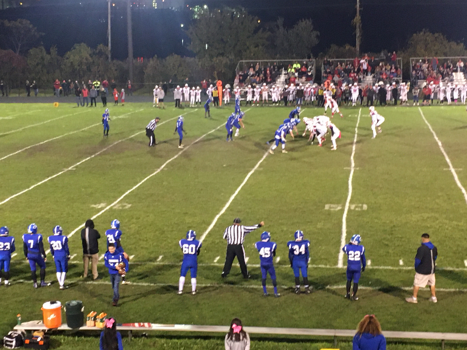 Sectional FB update: Knox up 56-0 10 min to play #nwihssports #nwipreps