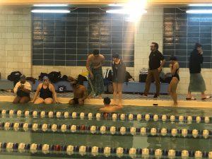 Girls and Boys Swimming vs Hammond High