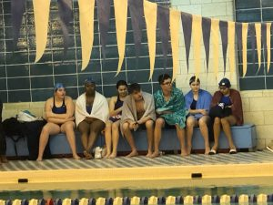 Swimming Clark vs HH & West Side