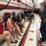 Girls Swimming Sectionals Finals