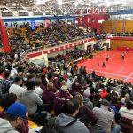 Wrestling Semi-State Andres Larios