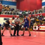 Wrestling Semi-State Andres Larios 2nd Match