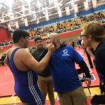 A. Larios drops 3rd match, wrestles for 3rd place next