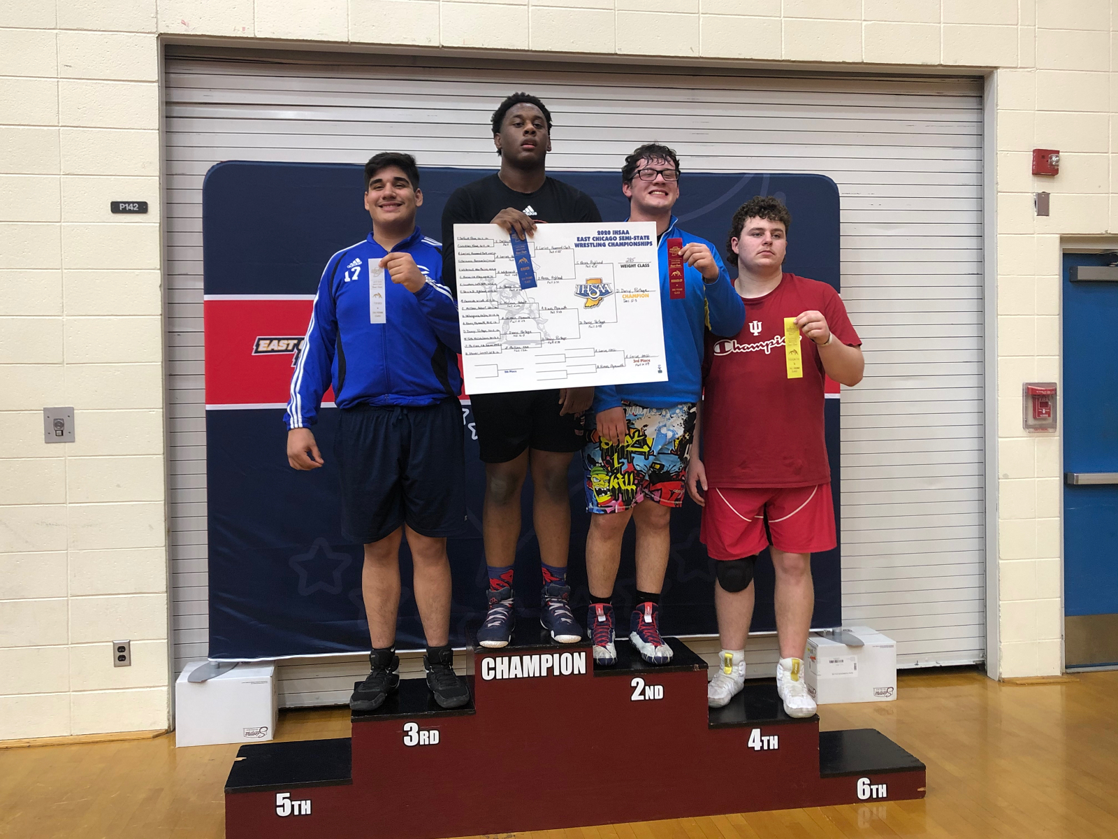 Congrats to Sr. Wrestler Andre Larios for placing 3rd at Semi-State and qualifying for State #PioneerOn #NorthStarGRC #WeWillLead #schk12 #15k