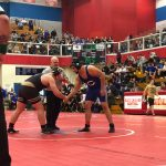 Wrestling Semi-State Andres Larios Matches 3 & 4