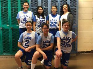 MS Girls Basketball vs Whiting