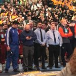 Wrestling State Tournament Parade of Champions Andres Larios