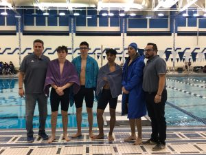 Boys Sectionals Swimming at LC