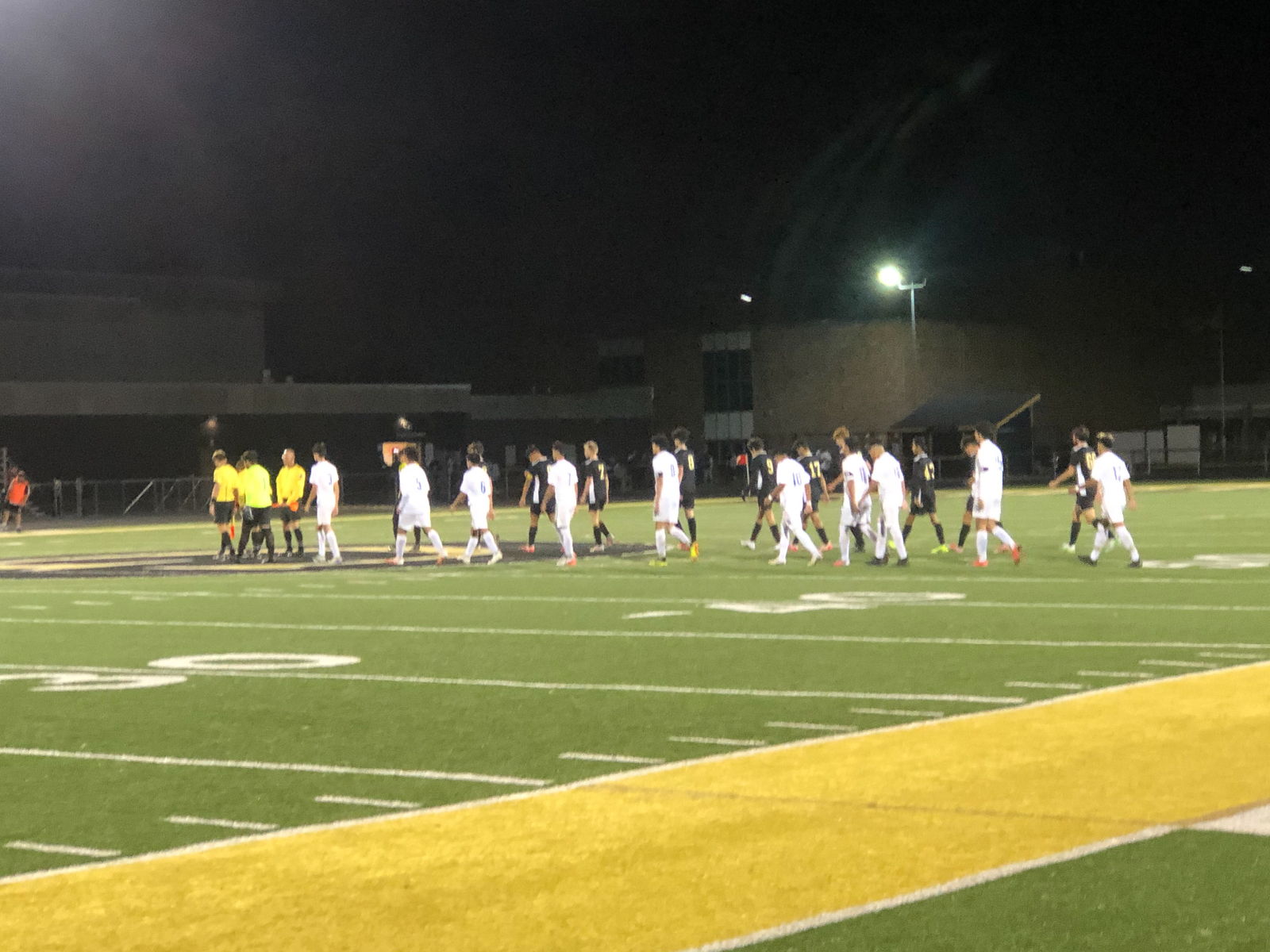 Boys Soccer Sectionals vs Griffith