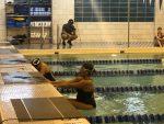 Coed Swimming vs Calumet