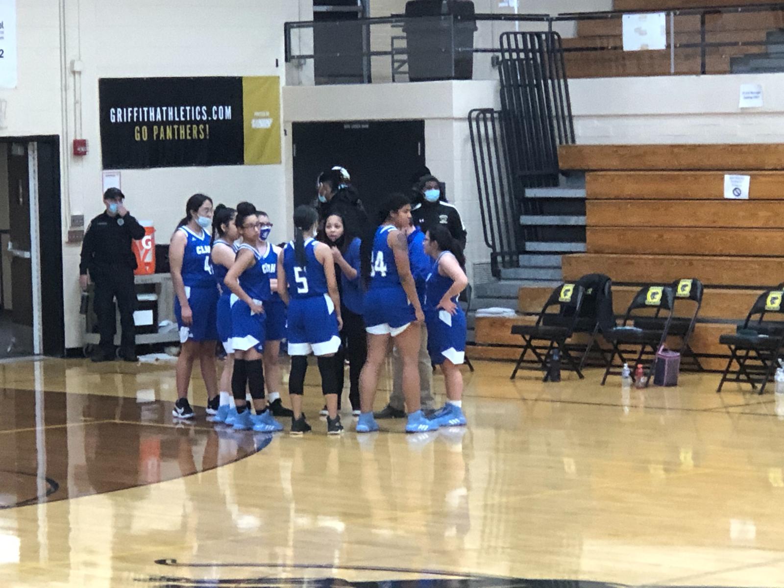 Girls Basketball vs Highland