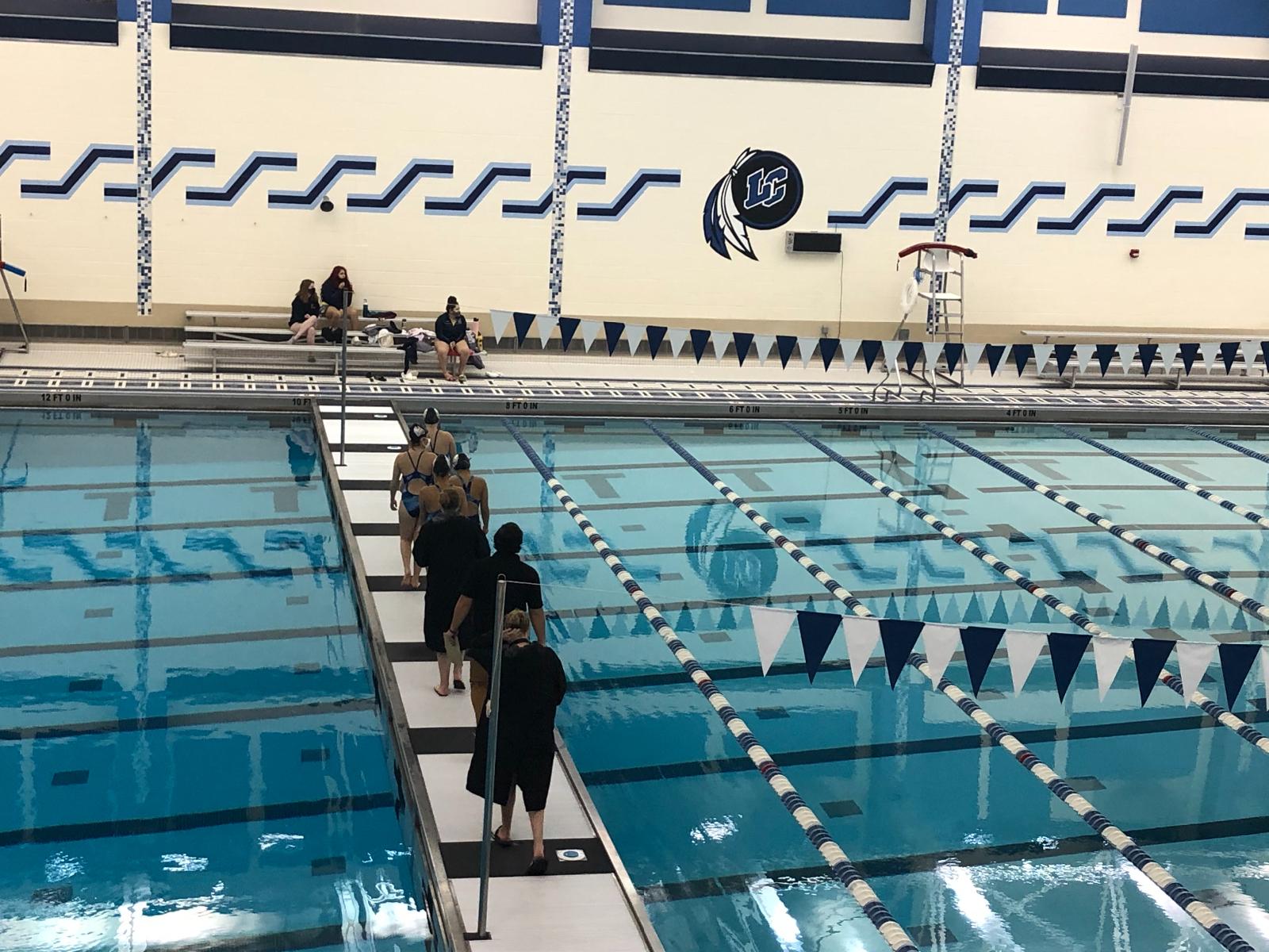 Girls Swim Sectional Prelim Highlights 2021 #WeWillLead #PioneerOn #LastDanceGRC #schk12
