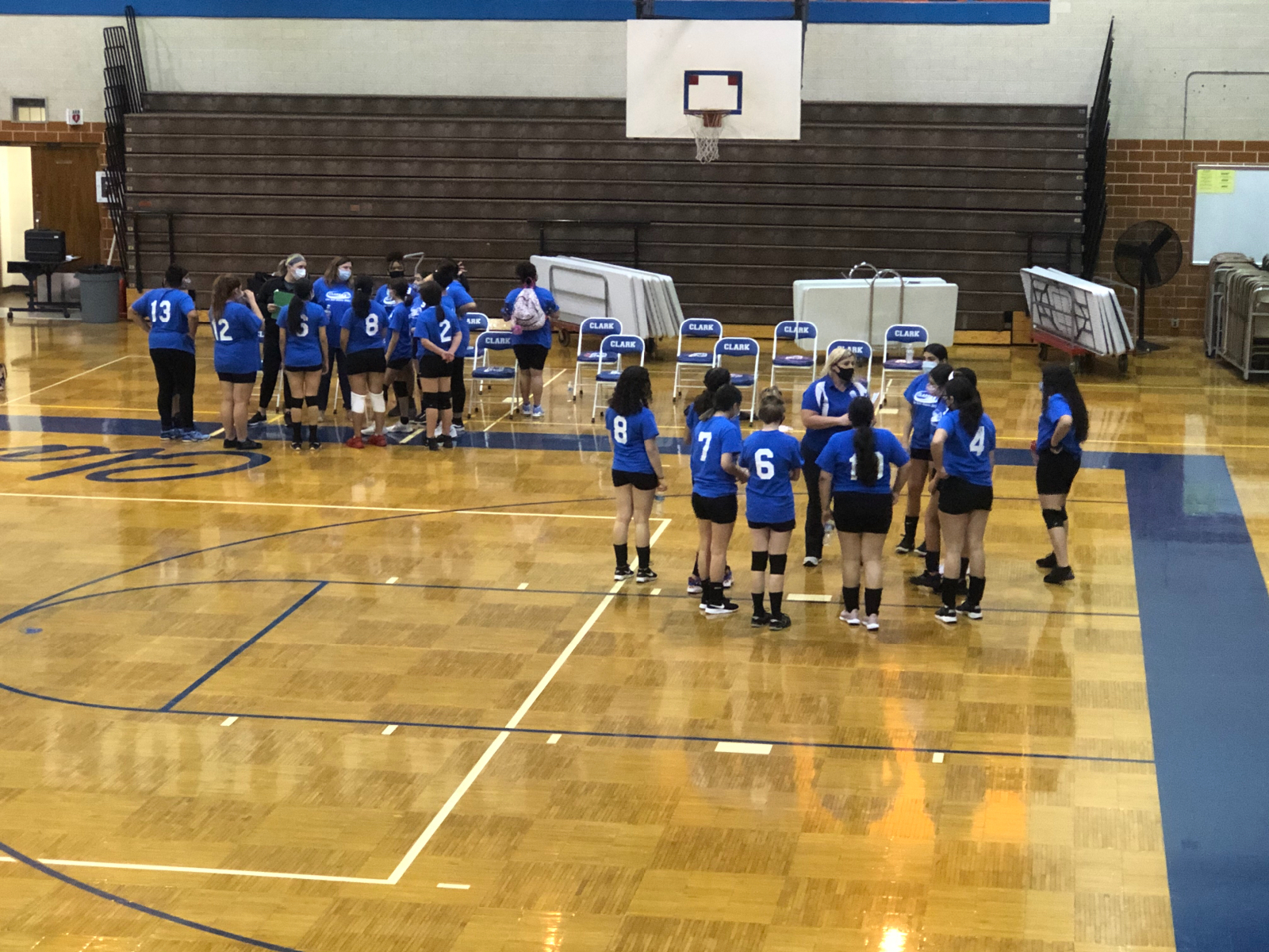 Middle School Volleyball vs Scott