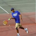 Berkeley High School Boys Varsity Tennis falls to Hilton Head Island High School 5-1