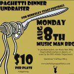Football Spaghetti Fundraiser at Music Man