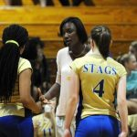 Stags volleyball team not short on athleticism