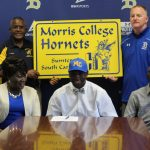 CJ Mack Signs With Morris College