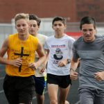 Stags cross country reach starting gate