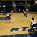 Berkeley High School Girls Varsity Volleyball falls to West Ashley High School 2-1