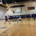 Berkeley High School Girls Varsity Volleyball falls to Hilton Head Island High School 2-0