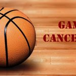 Basketball Game Vs Timberland has been cancelled