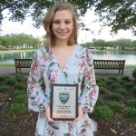 Sarah Mundy earns girls swimmming award