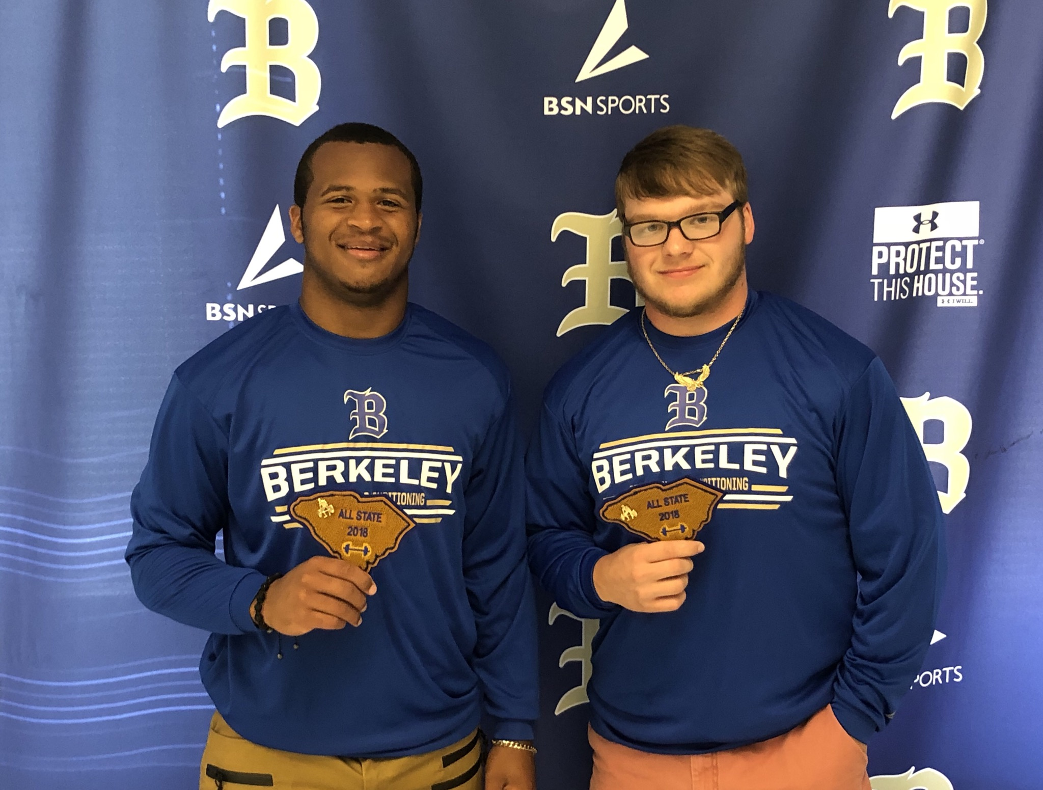 Stags Selected to All State Strength Team