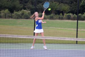 091018 Girls Tennis vs Ashley Ridge