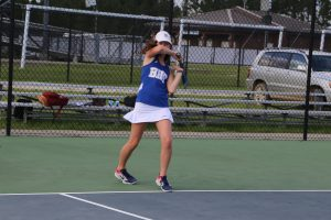 092418 Girls Tennis vs Manning
