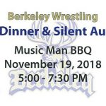 Wrestling Chili Dinner and Silent Auction  11/19 at Music Man BBQ