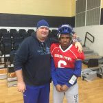 Mr. Steele supporting DJ Chisolm at The Shrine Bowl