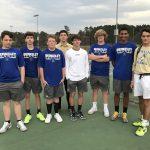Boys Varsity Tennis beats Cane Bay 4 – 3