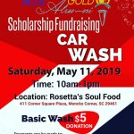 Blue and Gold Car Wash Fundraiser