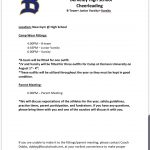 Cheer Parent Packet